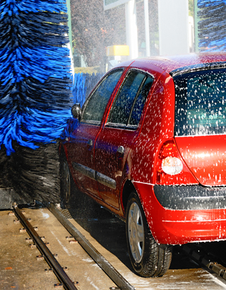 Demineralizing Resin to Reduce Car Wash Maintenance Expense